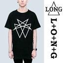 "LONG CLOTHING ロングクロージング""Octagram""グラフィックTシャツロック パンク ファッション ロックtシャツ ユニセックス BOY LON..."