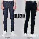 DR.DENIM(ドクターデニム)スキニーパンツ ブラックとインディゴの2タイプ スキニー パンツ メンズ ロック パンク ファッション ブラック dr.den...