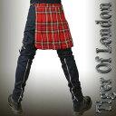 TIGER OF LONDON タイガーオブロンドン ボンテージパンツ 専用ヒップ フラップ 2カラー パンク スリム ボンテージパンツ ロック パンク ファッション メンズ レディース ロックファッション ヘビメタ V系 ボンデージパンツ