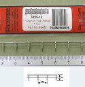 【1/200 N】フェンス(真鍮) FEN-12