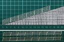 (新発売)【HO 1/100】フェンス I-2 よこ型(階段・スロープ(17度)手すり;ペーパー製)2本入り FEN-I-2