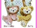 【ディズニーシー限定】Duffy(ダッフィー)/ShellieMay(シェリーメイ)♪激レアぬいぐるみポーチ★ふっくら可愛いお顔厳選!!タグ・ストーリーブック・ディズニーリゾートお土産袋付き♪