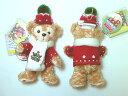 【希少】クリスマス・ウィンターコスチューム☆Duffy・ダッフィー☆2012☆激レアぬいぐるみストラ