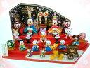 【即納】 ディズニー 2014 ひな人形 (大) 雛人形 ひな祭り お雛さま ミッキー&ミニー、仲間たち 東京ディズニーリゾートお土産袋付き♪【Disney】