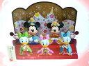 ディズニー 2018 ひな人形 (中) 雛人形 ひな祭り お雛さま ミッキー&ミニー、仲間たち 桃の ...
