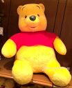 【パークで最高級】【お取り寄せ予約】 くまのプーさん Pooh ぬいぐるみ パーク内で最高級 プーさん 東京ディズニーリゾートお土産袋付き♪【DISNEY】