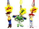 トイストーリーマニア・ トイストーリー ストラップ3個セット☆ウッディー(Woody)&バズ(Buzz)&ジェシー(Jessie)☆お土産袋付き!【東京ディズニーシー限定】【Disney】【クロネコDM便対応】