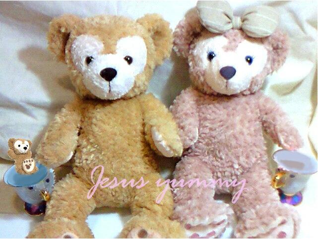 Duffy ダッフィー / ShellieMay シェリーメイ ぬいぐるみ★Sサイズ【ふっ…...:jesus-yummy:10000057