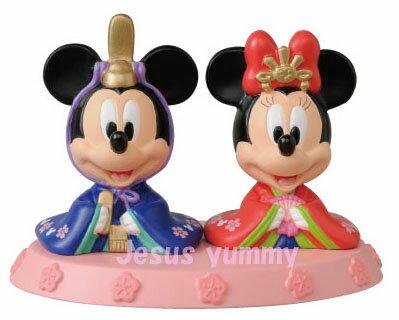 ディズニー2015〜2016ひな人形(特小)雛人形ひな祭りお雛さまミッキーミニー東京ディズニーリゾートお土産袋付き♪【Disney】
