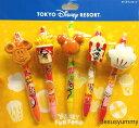 ボールペン 5本セット ディズニーファンフード DISNEY FUN FOOD 東京ディズニーリゾートお土産袋つき【DISNEY】