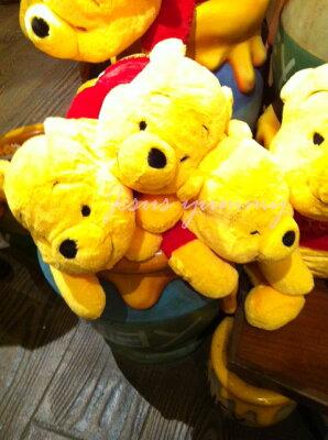 【東京ディズニーリゾート限定】くまのプーさん(Pooh)ぬいぐるみM抱き枕枕まくらディズニーリゾートお土産袋付き♪【DISNEY】