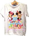 Tシャツ バースデイ Tシャツ バースデー 誕生日 Birthday ミッキー ミニー 東京ディズニーリゾート限定 2017 【DISNEY】