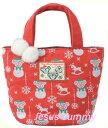 ショッピングダッフィー ダッフィー クリスマス トートバッグ シェリーメイ ジェラトーニ Christmas2016スペシャルグッズ ダッフィーのクリスマス2016 X'mas ディズニーシー限定 お土産袋つき【DISNEY】