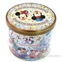 【予約販売】ミッキー ミニー チョコレートクランチ 缶 東京ディズニーリゾート35周年 Happiest Celebration 限定 お菓子 お土産袋付き【DISNEY】