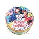 ミッキー ミニー パフチョコレート 缶 東京ディズニーリゾート35周年 Happiest Celebration 限定 お菓子 お土産袋付き【DISNEY】