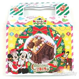 ミッキー&フレンズ 手作り<strong>お菓子の家</strong><strong>キット</strong> ディズニー・クリスマス 2019 お菓子 東京ディズニーリゾート限定 お土産 【DISNEY】