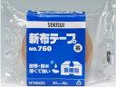 セキスイ/新布テープ 茶 50mm×50m/NO.760