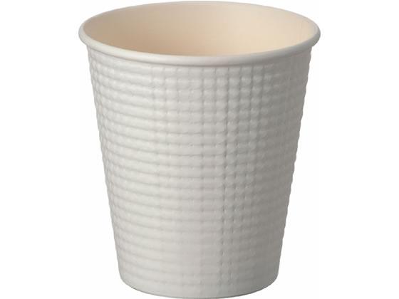 サンナップ/エンボスカップ ホワイト 210ml 50個入/C2150E