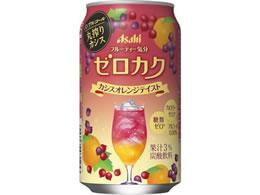 アサヒビール/ゼロカク カシスオレンジテイスト 350ml