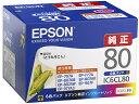 エプソン/インクカートリッジ6色パック/IC6CL80...