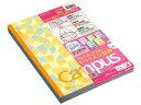 コクヨ/限定柄キャンパスノート(カラフルモザイク)5色パック セミB5 A罫