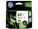 HP/インクカートリッジ カラー3色(増量) HP63XL/F6U63AA