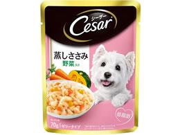 マースジャパン/シーザー蒸しささみ 野菜入 70g/CEP2
