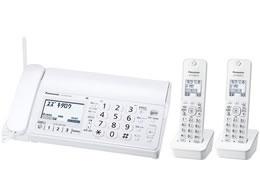 パナソニック/デジタルコードレス普通紙ファクス子機2台/KX-PD205DW-W