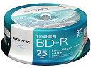 ソニー/1回録画用ブルーレイディスク 25GB4倍速30枚/30BNR1VJPP4