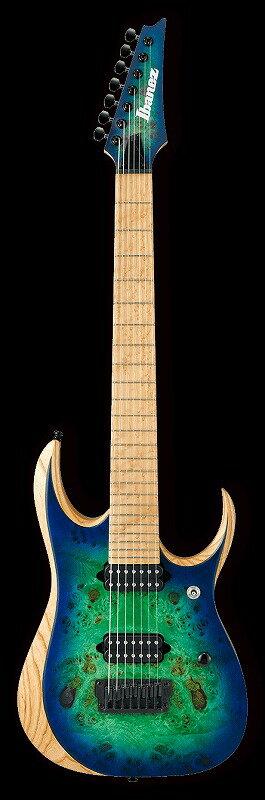 【送料無料】Ibanez IRON LABEL RGDIX7MPB Surreal Blue Burst(BKF)<アイバニーズ エレキギター>【商品番号 10011659  】 えらい(えらい)
