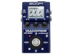 【在庫処分特価】ZOOM MS-100BT with Bluetooth<ズーム マルチストンプ>【RECOMMEND:草津Aスクエア店】