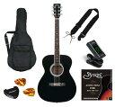 Sepia Crue FG-10 BKセピアクルー アコースティックギター アコギ フォークギター 黒 ブラック