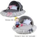 【送料無料】Louis Dog (ルイスドッグ)(ルイドッグ)Linen Cradle (Petit/プチサイズ)小型犬 ベッド カドラー(2カラー)