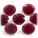 (before and after Oval 12x10mm) a reasonable stone of the ruby