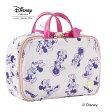 (Disney) ディズニーライン 『ミニー』 ダブルファスナーポーチ ピンク / 33285