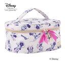 (Disney) ディズニーライン 『ミニー』 バニティケース ピンク / 33287