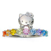 HELLO KITTY �쥤��ܡ���󥰡ʻ��ء�ENLIGHTENED™ - Swarovski Elements