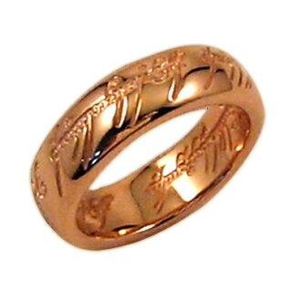 The One Ring (더 원 링) 핑크 골드 코팅 ◆ 로드 오브 더 링 상품 한정 악세사리 선물 선물 포장 10P21May14