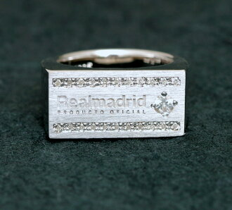 Real Madrid silver ring ( ring ) C present gift Christmas wrapping fs3gm