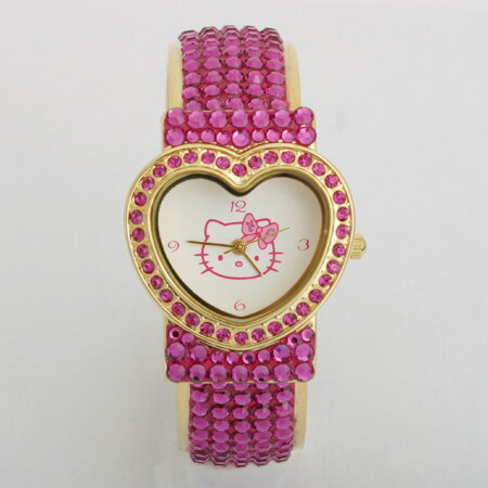 Hello Kitty HELLO KITTY×tinkpink watch watch Kitty baby accessories gifts gift Christmas wrapping fs3gm