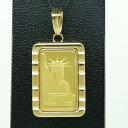 【送料無料】24金 インゴット INGOT リバティコイン K24(純金) 10g リバティコイン