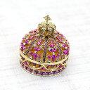 王冠 ジュエリーボックス(パープル)