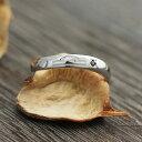 ショッピング星 指輪 K10WG 12星座 天秤座 シンボルマーク 彫刻 ダイヤ 0.01ct リング