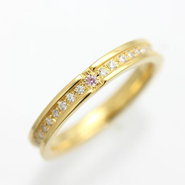 K18YG ダイヤモンド フルエタニティ イエローゴールド クロスリング レディースリング【結婚指輪】 【送料/刻印無料】豪華なフルエタニティクロスリングのオリジナルリング