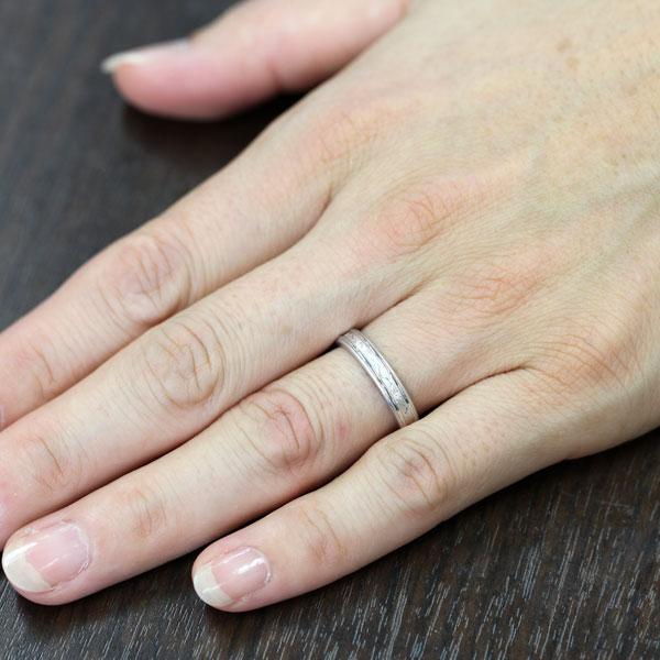PT900(Pt90%) ダイヤモンド 手彫り...の紹介画像3