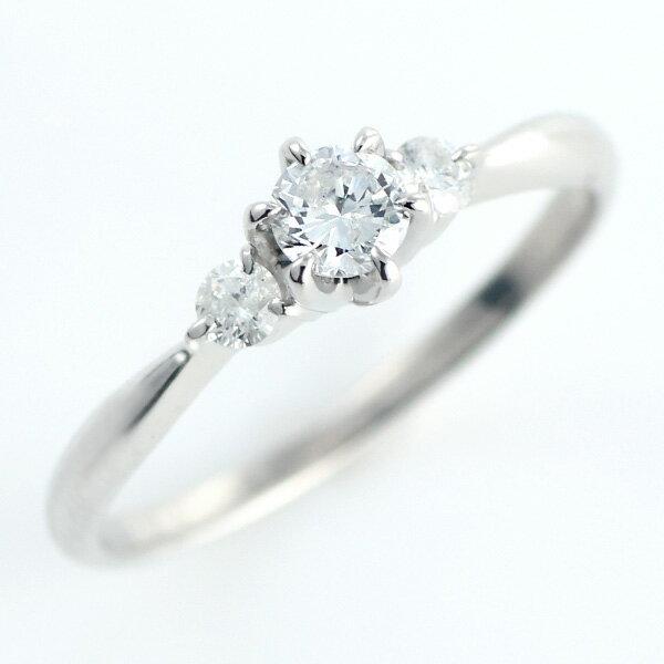 【刻印無料】婚約指輪 0.2カラット サイドダイヤ付き エンゲージリング ダイヤモンド プラチナ リング ソリティア 一粒 【_包装】 【2016 ジュエリー大賞受賞のお店☆】輝きのよいダイヤをひとつひとつお選びいたします。婚約指輪 エンゲージリング プレゼント ギフト