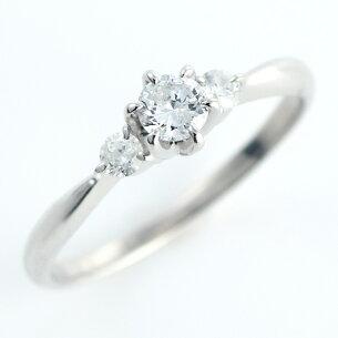 カラット エンゲージリング ダイヤモンド プラチナ ソリティア