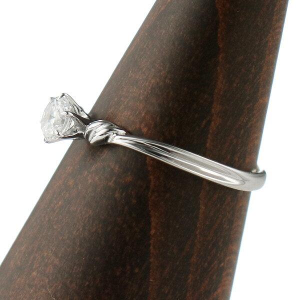 婚約指輪 エンゲージリング ダイヤモンド プラ...の紹介画像3