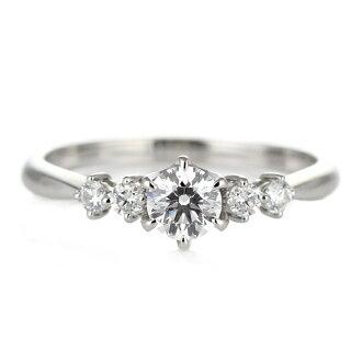 [半價 ! ︰ 訂婚戒指鑽石鑽石戒指訂婚戒指 K18 白色黃金寺類 0.30 ct 評價證書 [耶誕節] [樂天超級銷售]
