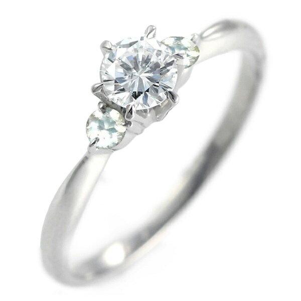 ( 婚約指輪 ) ダイヤモンド エンゲージリング( 6月誕生石 ) ムーンストーン【楽ギフ_包装】